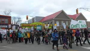 Antigonish Climate March 2015